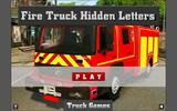 Пожарная машина: Скрытые буквы