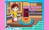 Сара готовит Торт