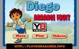 Диего - собиратель фруктов