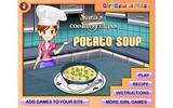Сара готвит первоклассный картофельный суп