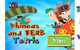 Веселый тетрис: Файнес и Ферб
