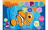 В поисках Немо: Бумажные игрушки