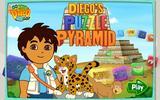 Диего и пазл из пирамид