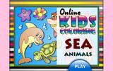 Раскраска: обитатели океана