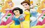 Диснеевская принцесса - найдите отличия