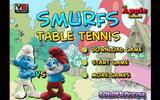 Настольный теннис со Смурфиками