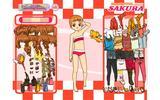 Сакура - подборка одежды