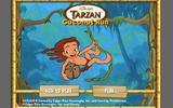 Тарзан охотится за кокосами
