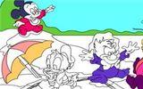 Детская дисней-раскраска