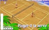 Теннис на пляже