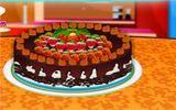 Торт с большим количеством фруктов