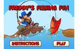Фредди на рыбалке
