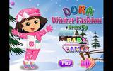 Зимний наряд для Доры