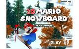 3D Марио на сноуборде