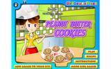 Арахисовое тесто - печенья