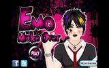 Макияж для девушки-эмо