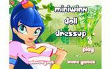 Мини-кукла - наряжалка