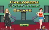 Побег в Хэллоуинском костюме