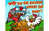 Почему куры пересекают дорогу