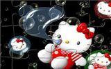 Привет Китти: воздушные шары