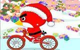 Птичка на велосипеде